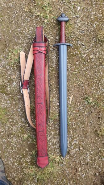 Schwert und Scheide Set 013