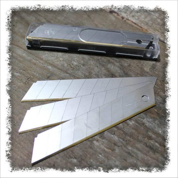 Abbrechklingen 18mm, 10 Stück, Spezialgehärtet