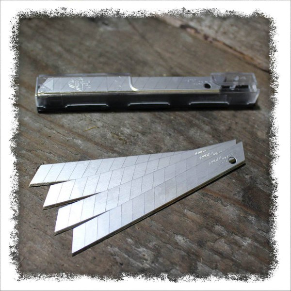 Abbrechklingen 9mm, 10 Stück, Spezialgehärtet