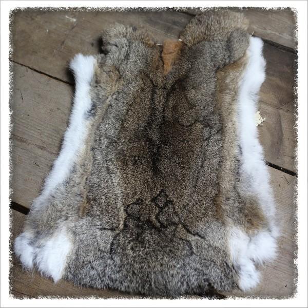 Weiches Kaninchenfell