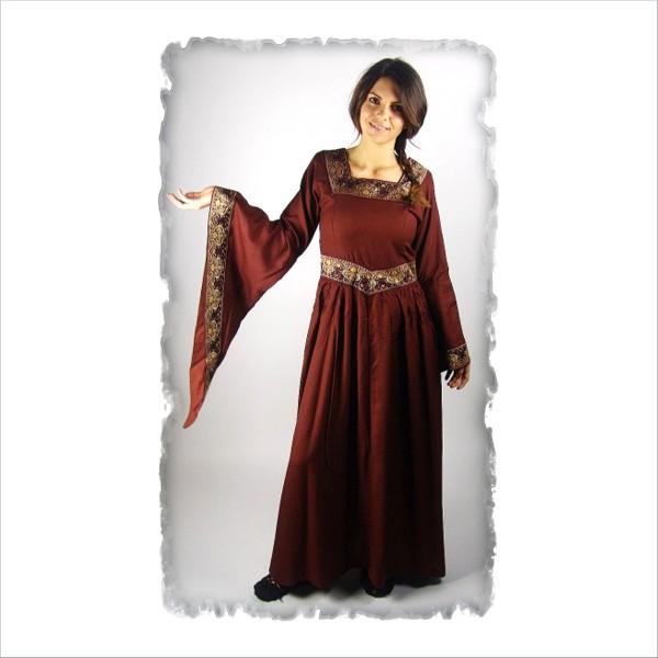 edles Viskose-Kleid