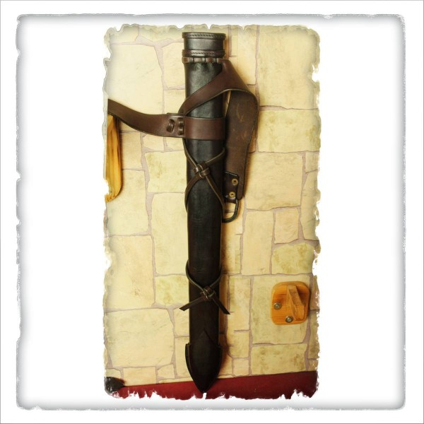 Lederschwertscheide WG für Kurzschwerter
