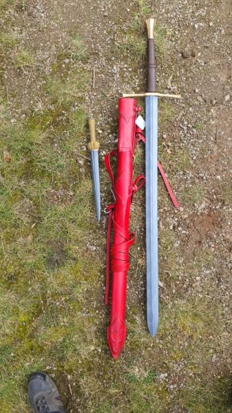 Schwert und Scheide Set 009