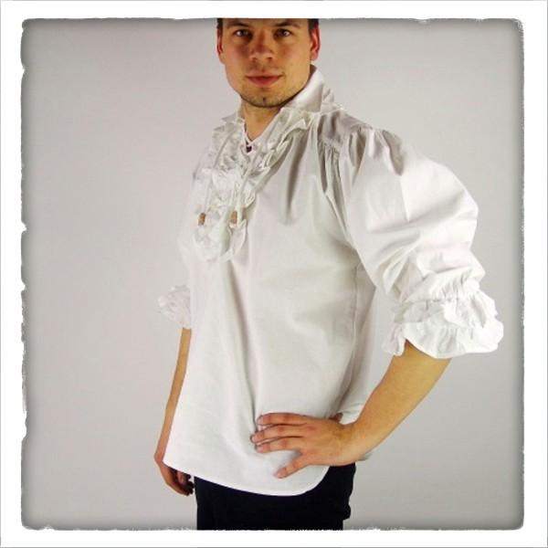 Piraten-Rüschenhemd